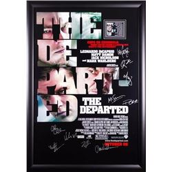 The Departed Signed Movie Poster