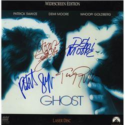 Ghost Cast Signed Movie Laserdisc Album