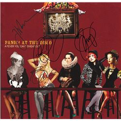 Panic At The Disco Band Signed A Fever You Can't Sweat Out Album