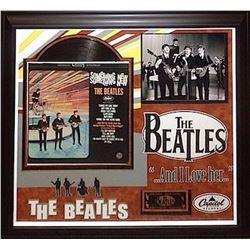 Beatles signed Album Collage