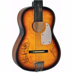 Blues Brothers Signed 1950 – 1960's Stella Harmony Vintage Acoustic Guitar