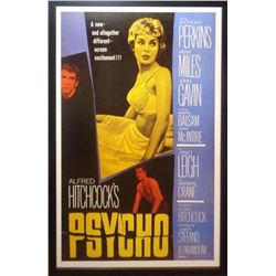 Psycho' Signed Movie Poster