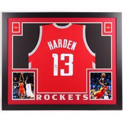 James Harden Signed Rockets Jersey