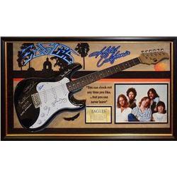 Eagles signed Guitar Collage