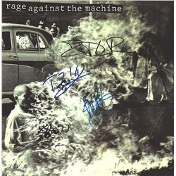 Rage Against The Machine Band Signed Self Titled Album