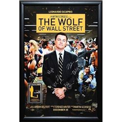 Wolf of Wall Street Signed Movie Poster