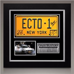 Ghostbusters Signed Ecto License Plate