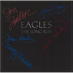 "Eagles Signed ""The Long Run"" Album"