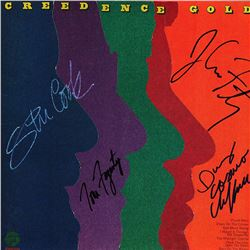 Creedence Clearwater Revival Band Signed Creedence Gold Album