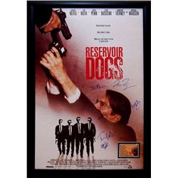 Reservoir Dogs Signed Movie Poster