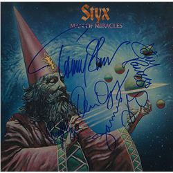 Styx Band Signed Man Of Miracles Album