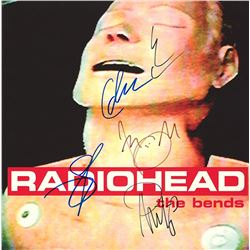 Radiohead Band Signed The Bends Album