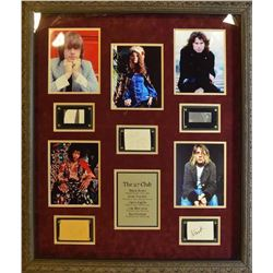 The Forever 27 Club Framed Signatures Collage