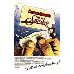 """Cheech and Chong Signed """"Up In Smoke"""" Poster"""