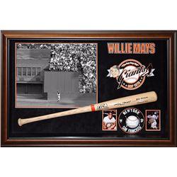 Willie Mays Signed Baseball Bat