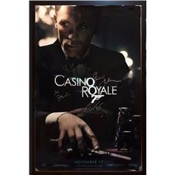 Casino Royale Signed Movie Poster