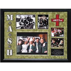 MASH' Signed Photo Collage
