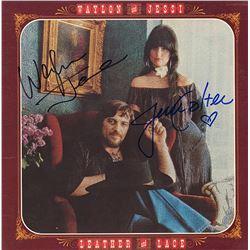 Waylon Jennings Signed Waylon and Jessi Album
