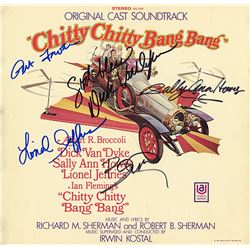 Chitty Chitty Bang Bang Cast Signed Movie Soundtrack Album