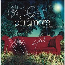 Paramore Band Signed All We Know Is Falling Album