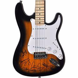 Styx Band Signed Darkened Sunset Stratocaster Guitar