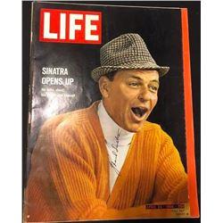 Frank Sinatra Singed 'Life Magazine'