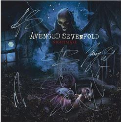 Avenged Sevenfold Band Signed Nightmare Album