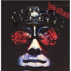 Judas Priest Band Signed Killing Machine Album