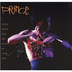 Prince Signed I Could Never Take The Place Of Your Man Album