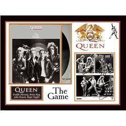 Queen signed PhotoCollage