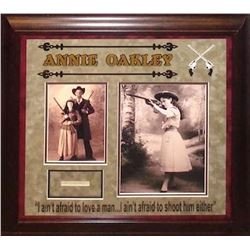 Annie Oakley signed Collage