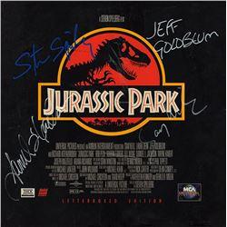Jurassic Park Cast Signed Movie Laserdisc Album