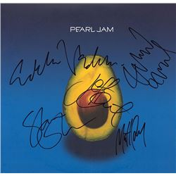 Pearl Jam Band Signed Self Titled Album