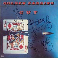 Golden Earring Band Signed Cut Album