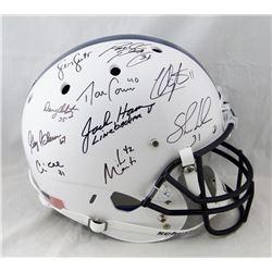 Linebacker U Autographed Penn State Full Size Schutt Helmet 10 Sigs- JSA W Auth