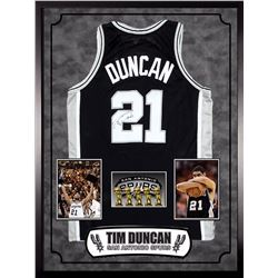 Tim Duncan Signed San Antonio Spurs Jersey