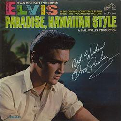 "Elvis ""Paradise, Hawaiian Style"" Signed Album"