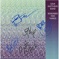 Dave Matthews Band Signed Remember Two Things Album