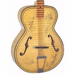 The Rolling Stones Band Signed Cream Waved Finish 1950 – 1960s Old Kraftsman Vintage Guitar
