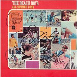 The Beach Boys Band Signed All Summer Long Album