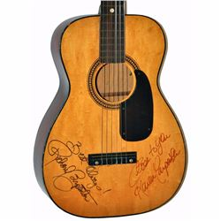 The Carpenters Signed Signed Saddle Tan 1950 – 1960's Vintage Acoustic Guitar