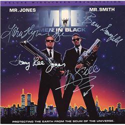 Men In Black Cast Signed Movie Laserdisc Album