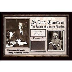 Albert Einstein Signed Written Equation