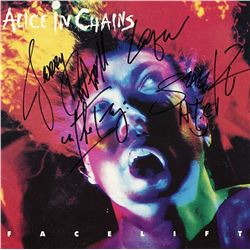 """Alice In Chains Signed """"Facelift"""" Album"""