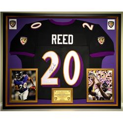 Ed Reed Signed Ravens Jersey