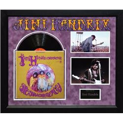 """Jimi Hendrix """"Are You Experienced"""" Signed Album collage"""