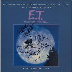 E.T. The Extra-Terrestrial Cast Signed Movie Soundtrack Album