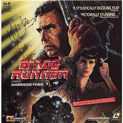 Blade Runner Cast Signed Movie Laserdisc Album