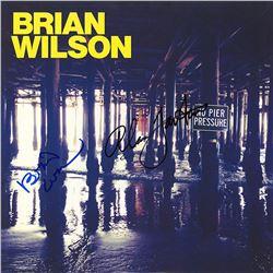 Brian Wilson of The Beach Boys Signed No Pier Pressure Album
