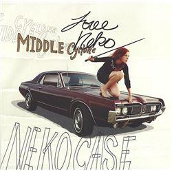 Neko Case Signed Middle Cyclone Album